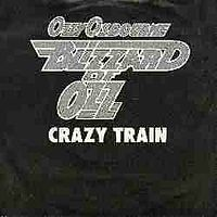 Обложка сингла «Crazy Train» (Ozzy Osbourne, 1980)