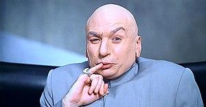 Доктор Зло в исполнении Майка Майерса-- главный злодей в серии фильмов.