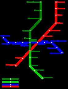 Схема метро свердловска