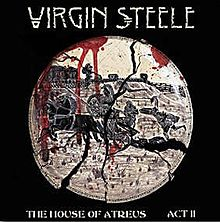 Обложка альбома Virgin Steele «The House of Atreus Act II» (2000)