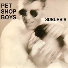 Обложка сингла Pet Shop Boys «Suburbia» (1986)