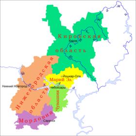 Доклад на тему волго вятский район 5300