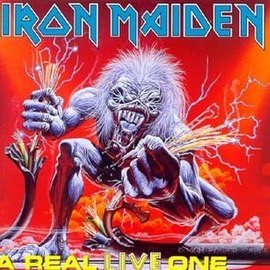 Обложка альбома Iron Maiden «A Real Live One» (1993)
