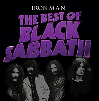 Обложка альбома Black Sabbath «Iron Man: The Best of Black Sabbath» (2012)
