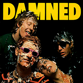 Обложка альбома The Damned «Damned Damned Damned» (1977)