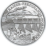 2007 Austria 20 Euro Empirior Ferdinand's North Railway back.jpg