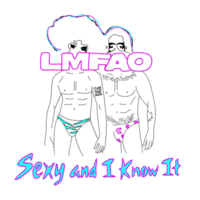 Обложка сингла «Sexy and I Know It» (LMFAO, 2011)