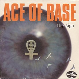 Обложка сингла Ace of Base «The Sign» (1993)