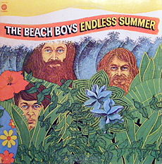 Обложка альбома The Beach Boys «Endless Summer» (1974)