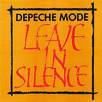 Обложка сингла «Leave in Silence» (Depeche Mode, 1982)