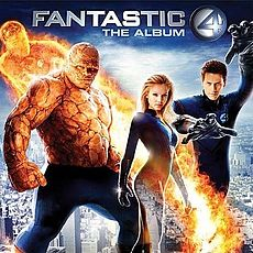 Обложка альбома Various Artists «Fantastic 4: The Album» (2005)