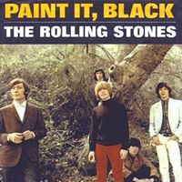 Обложка сингла «Paint It Black» (The Rolling Stones, 1966)