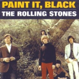Обложка сингла The Rolling Stones «Paint It Black» (1966)
