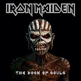 Обложка альбома Iron Maiden «The Book of Souls» (2015)