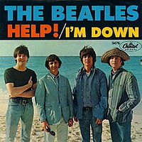 Обложка сингла «I'm Down» (The Beatles, 1965)