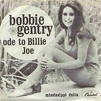 Обложка сингла «Ode to Billie Jo» (Бобби Джентри, 1967)