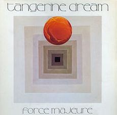 Обложка альбома Tangerine Dream «Force Majeure» (1979)