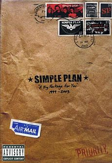 Обложка альбома Simple Plan «A Big Package for You» ()