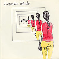 Обложка сингла «Dreaming of Me» (Depeche Mode, 1981)