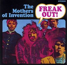 Обложка альбома Фрэнка Заппы с The Mothers of Invention «Freak Out!» (1966)