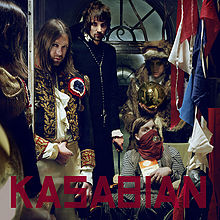 Обложка альбома Kasabian «West Ryder Pauper Lunatic Asylum» (2009)