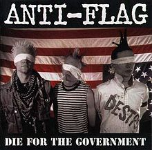 Обложка альбома Anti-Flag «Die for the Government» (1996)