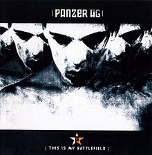 Обложка альбома Panzer AG «This is My Battlefield» (2004)
