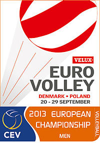 2013 European Volleyball Championship (Men) Logo.jpg