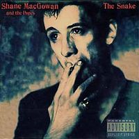 Обложка альбома Shane MacGowan and The Popes «The Snake» (1994)