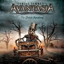 Обложка альбома Avantasia «The Wicked Symphony» (2010)