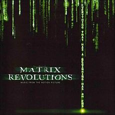 Обложка альбома VA «The Matrix Revolutions: Music from the Motion Picture» (2003)