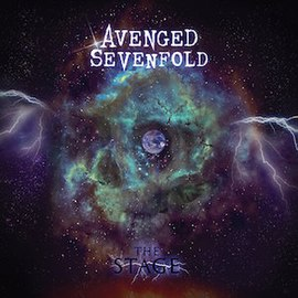 Обложка альбома Avenged Sevenfold «The Stage» (2016)