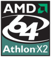 AMD Athlon 64 X2 logo