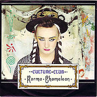Обложка сингла «Karma Chameleon» (Culture Club, {{{Год}}})