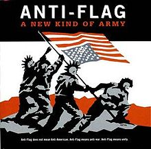 Обложка альбома Anti-Flag «A New Kind of Army» (1999)