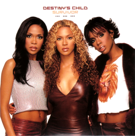 Обложка сингла Destiny's Child «Survivor» (2001)