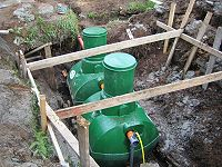 наружняя хозяйственно бытовая канализация