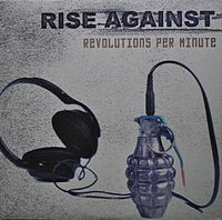 Обложка альбома Rise Against «Revolutions per Minute» (2003)