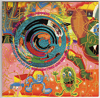 Обложка альбома Red Hot Chili Peppers «The Uplift Mofo Party Plan» (1987)