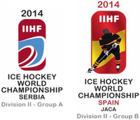 Логотипы 2014 IIHF Ice Hockey World Championship Division II