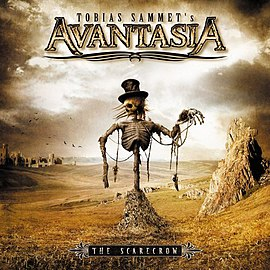 "Avantasia album cover ""The Scarecrow"" (2008)"