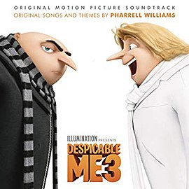 Обложка альбома «Despicable Me 3: Original Motion Picture Soundtrack» (2017)