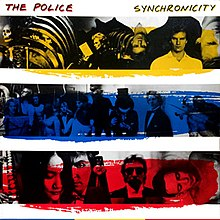 Обложка альбома The Police «Synchronicity» (1983)