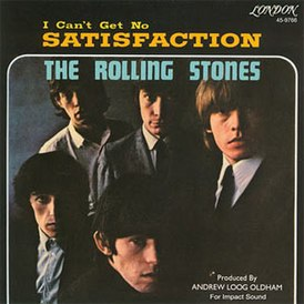 Обложка сингла The Rolling Stones «(I Can't Get No) Satisfaction» (1965)