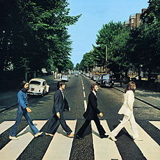Обложка альбома The Beatles «Abbey Road» (1969)