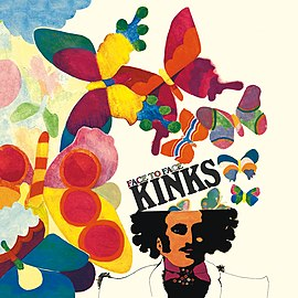 Обложка альбома The Kinks «Face to Face» (1966)