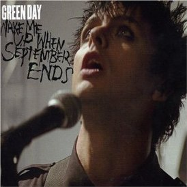 Обложка сингла Green Day «Wake Me Up When September Ends» (2005)