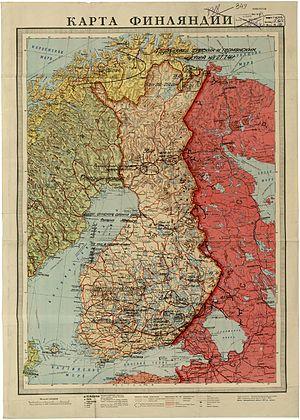 Финское наступление 1941