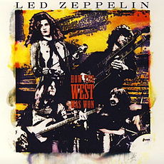 Обложка альбома Led Zeppelin «How the West Was Won» (2003)