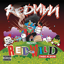 Обложка альбома Redman «Red Gone Wild» (2007)